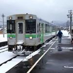 らーめん 信玄 南6条店 - 余市駅を出発、札幌駅へ