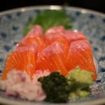 蔵部 - 料理写真:信州サーモン造