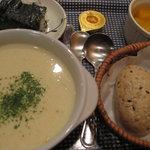 オーガニックスープ・コロンボ - ころんぼセット680円