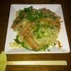 なんくるないサ~ - 料理写真:ソーメンチャンプルー(ソーメンをスパムや野菜と炒めたもの)