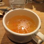 32714186 - ランチについてきたスープ