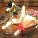 ザ・リッツ・カールトン大阪 - シャンパンとチョコ