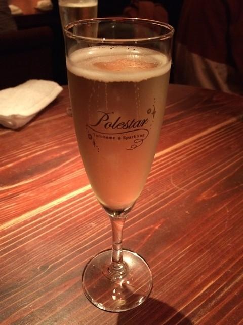 シャンパン&醤油バー フルートフルート - 店主の気まぐれ 本日のスパークリング