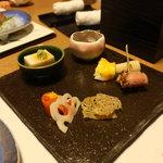 御宿 仙壽 - 前菜