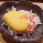 江戸前鮓 すし通 - ずわい蟹