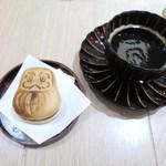 AKOMEYA厨房 - コクテール堂のコーヒー、もなかアイス 抹茶