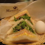 Maruthinafuranka - 美味しそうなサンドイッチ♪