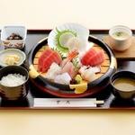 グルメ館 豊魚 - 料理写真:大漁盛り込み膳 Aセット