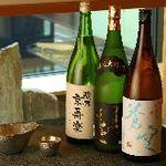 豆まる - 日本酒も各種ございます
