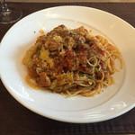 リストランテファンタジスタ - 猪とキャベツのトマトソースパスタ