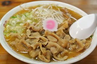 めし・定食 西葉食堂 - 西葉食堂・ホルモンラーメン¥770(2014.08)