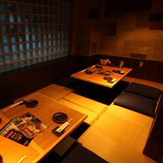 【田町・三田駅近】完全個室・掘りごたつ席