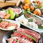 焼肉じゃんじゃん亭 - もちろんお肉の種類も豊富です!!