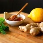 koreAn diNing GOMAmura - 「ハチミツレモン漬け生姜トッピング」。+\100で全ての鍋が「ヘルシー生姜鍋」に変身!冷え性の方や飲酒で身体が冷え込んだ場合などにおすすめ!鍋以外に熱を通す全ての料理に合います。一番のおすすめは「生姜サムゲタン」!