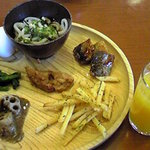自然派バイキング わらべ - お総菜。
