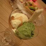 guest house CONO - アイスクリーム二種