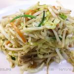 虎林 - 野菜炒めライス(定食) \680 2014.11.19