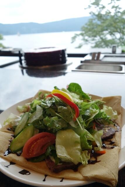 ベーカリーアンドテーブル箱根 - (2014/9月)「ガレット ローストビーフ&サラダ」