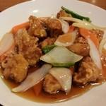 中国料理 晴華 - 酢豚