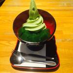 すいぎょく園 - グリーンソフトがとても美味しい。 抹茶を味わうならここが一番! 大垣にきたら是非!
