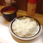 32734592 - H26.11 ライス、味噌汁