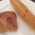 32739593 - マロンデニッシュとバタークリームのパン♪