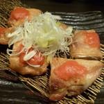 魚吉別邸 會 - 2014.12 鶏肉明太ソース