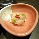 魚吉別邸 會 - 2014.12 お通し