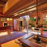 ホテル三泉閣 - 足湯に隣接する甘味処