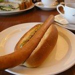 珈琲館 - 料理写真:「ビッグホットドック」