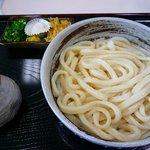 地蔵うどん 六義亭 - ぶっかけ(温)