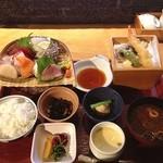 和食 懐石 京-miyako- - 刺身天麩羅御膳