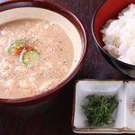 宮崎地どり家 - 冷汁ごはん 又は 冷汁うどん