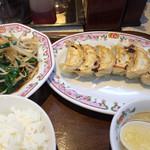 32762584 - ニラレバ定食  720円