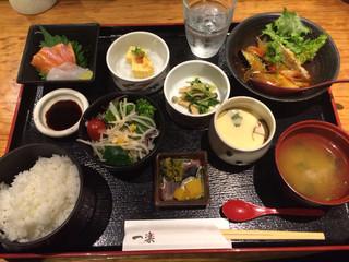 一楽 - 日替り定食=1000円(税込)