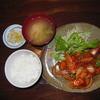 にく○ - 料理写真:とりチリ定食