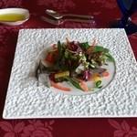 フランス料理 オークヴィル - まずはサラダから