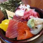 鮨処大漁 - 料理写真:2014/11 のっけ丼