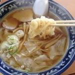 末弘軒 - 料理写真:ワンタンメンアップ