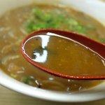 天鵬 - スープはコクはありますが、味が無い??