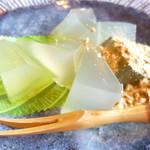 茶房 古久家 - わらび餅