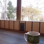 ホノルルコーヒー - 電源があり助かりました。