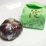 京菓子司 おくやま菓舗 - 淀はグリーンも。