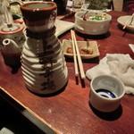 上野市場 - 日本盛2合徳利