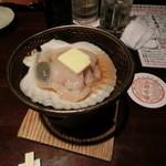 上野市場 - 帆立のバター焼き