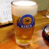 鳥ひろ - ドリンク写真:おビール