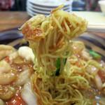 アレンジセット - カリカリ麺に濃厚な醤油餡