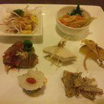 ジェイドガーデン - お刺身入り前菜盛り(\1,480)
