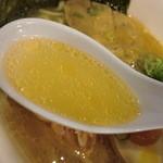 駿河亭 - 澄んだスープ