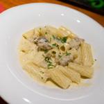 トラットリア・フランチェスカ - ボルチーニ茸のクリームソース リガトーニ